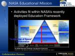nasa educational mission
