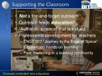 supporting the classroom