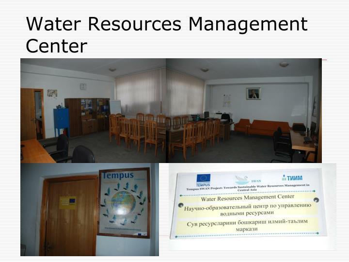 Water Resources Management Center