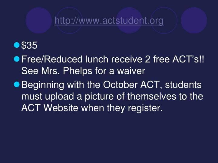 http://www.actstudent.org