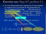 exercise one page 367 problem 9 3