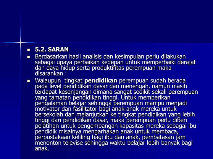 5.2. SARAN