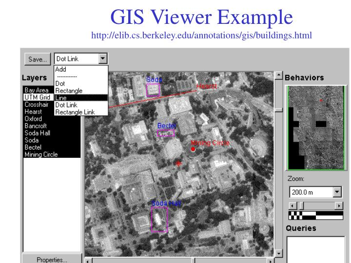 GIS Viewer Example