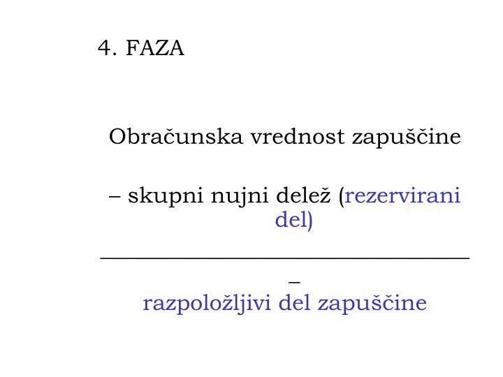 4. FAZA