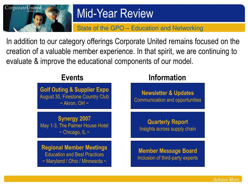 Ppt Mid Year Review Powerpoint Presentation Free