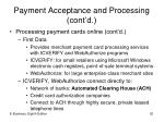 payment acceptance and processing cont d5
