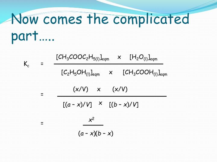 Now comes the complicated part…..