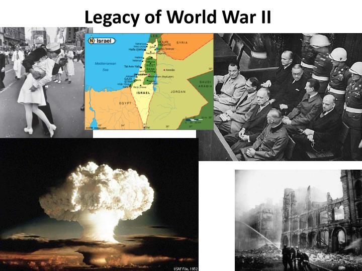 legacy of world war ii n.