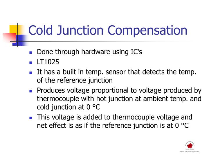Cold Junction Compensation