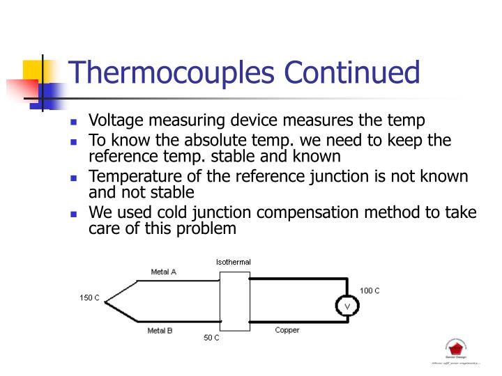 Thermocouples Continued