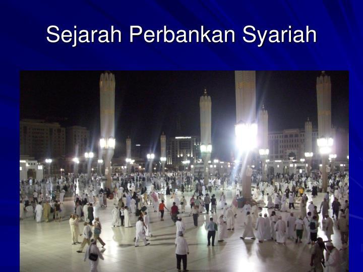 Sejarah perbankan syariah