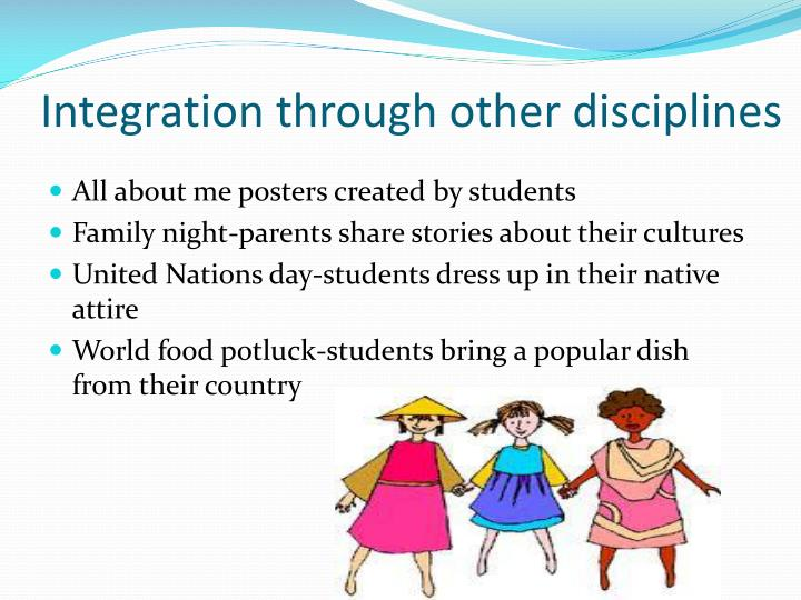 Integration through other disciplines