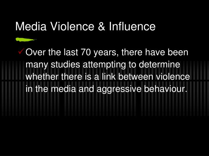 media violence and its effects Impact research has associated exposure to media violence with a variety of physical and mental health problems for children and adolescents, including aggressive and violent behavior, bullying, desensitization to violence, fear, depression, nightmares, and sleep disturbances.