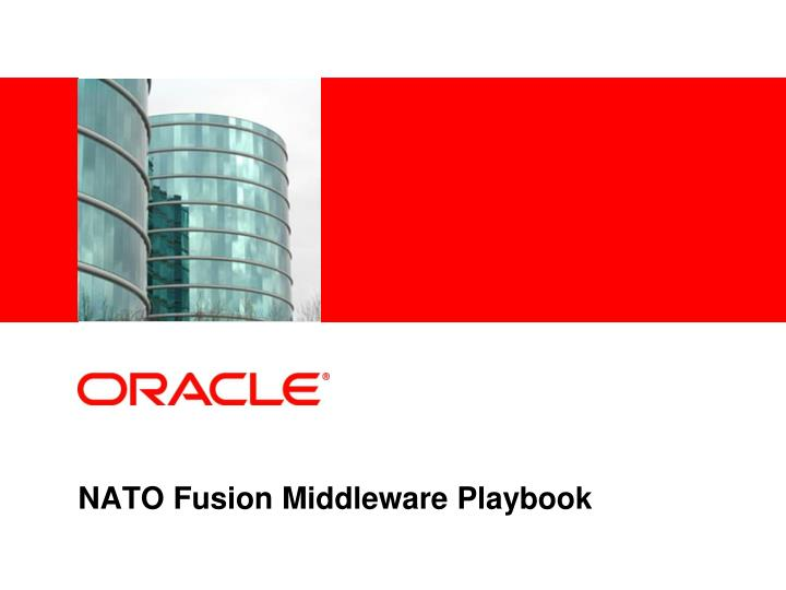 nato fusion middleware playbook n.