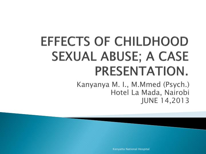 the profound effects of child sexual abuse 28-6-2016 the impact of childhood sexual abuse on adult  commonly reported symptoms and long-term effects include  when a child suffers sexual abuse,.