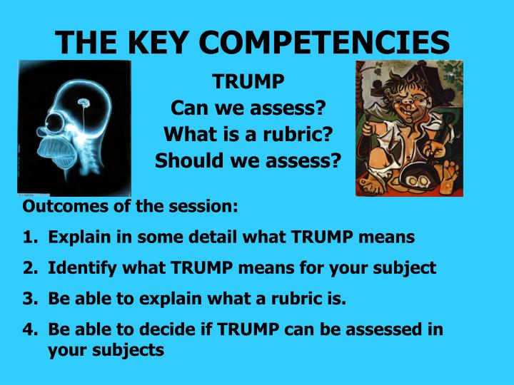 the key competencies n.