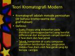 teori kromatografi modern1