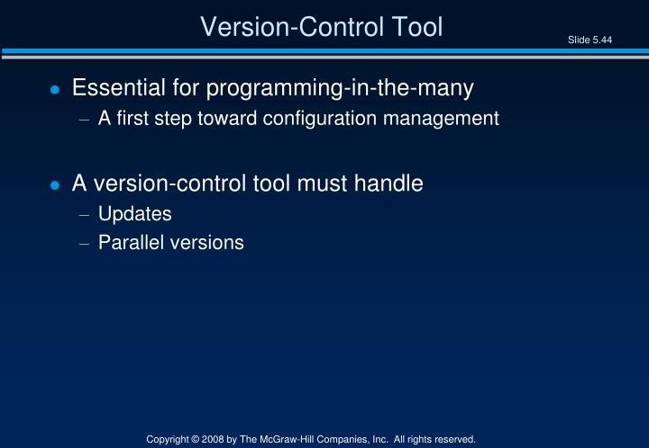 Version-Control Tool