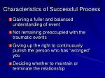 characteristics of successful process