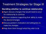 treatment strategies for stage iii2