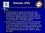 answer 9a