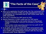 the facts of the case