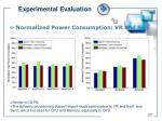 experimental evaluation3