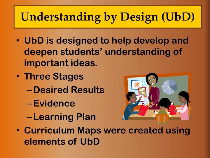 Understanding by Design (
