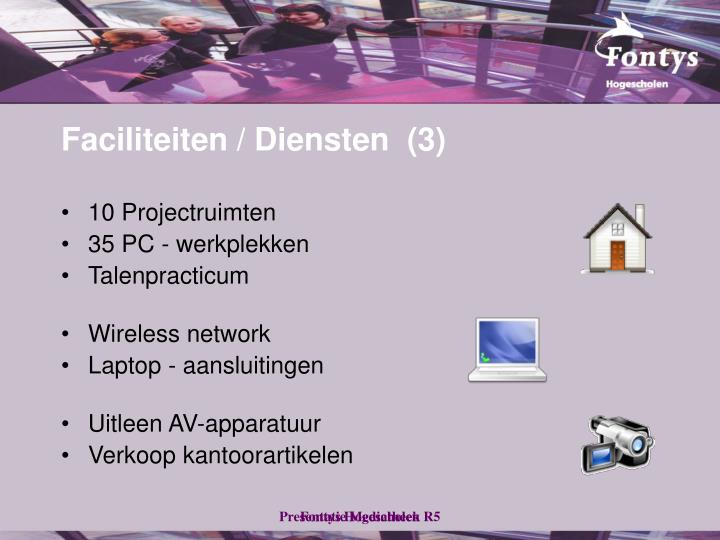 Faciliteiten / Diensten  (3)