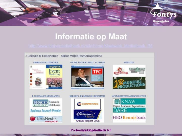 Informatie op Maat