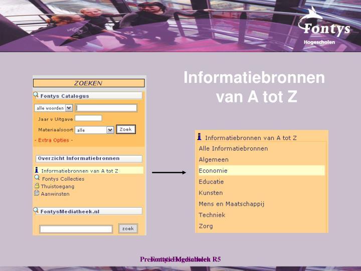 Informatiebronnen