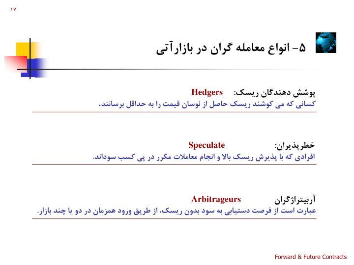 5- انواع