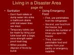 living in a disaster area page 44