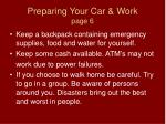 preparing your car work page 6