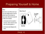 preparing yourself home3