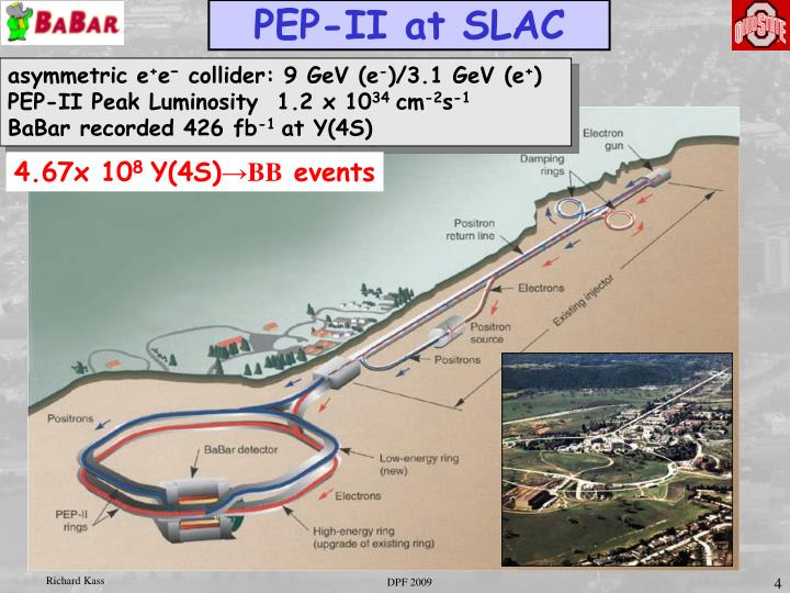 PEP-II at SLAC
