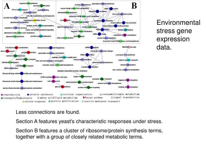 Environmental stress gene expression data.