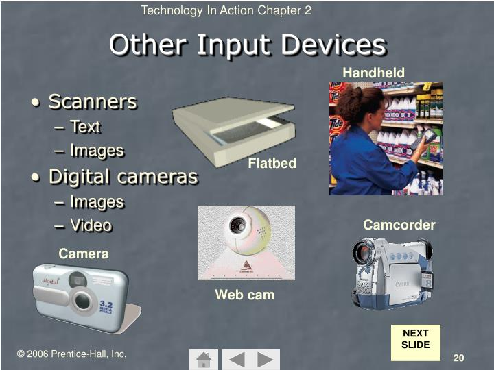 Other Input Devices