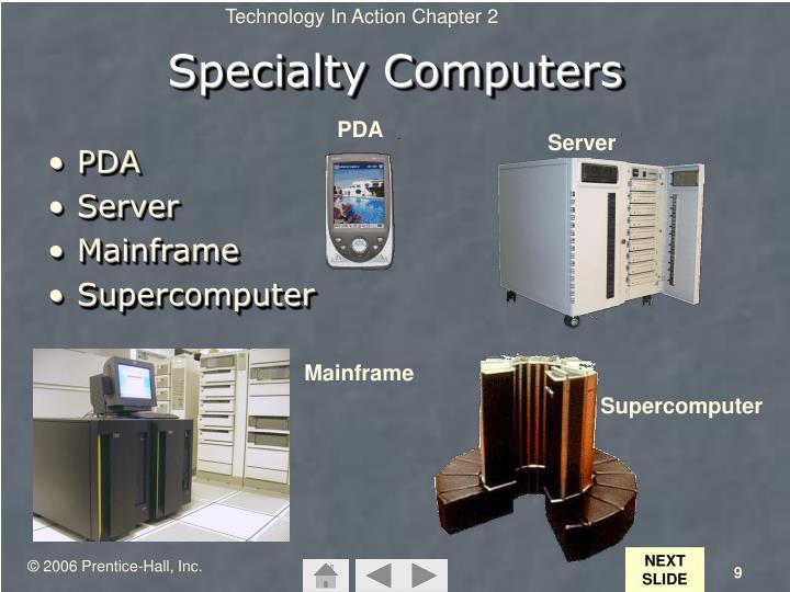 Specialty Computers