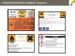etiquetage produits chimiques etiquettes