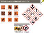etiquetage produits chimiques introduction