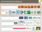 outils d valuation des mat riaux