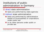 institutions of public administration in germany3