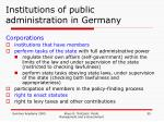 institutions of public administration in germany4