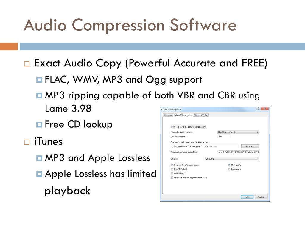 PPT - Audio and Video Compression and it's importance on the