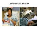 emotional climate