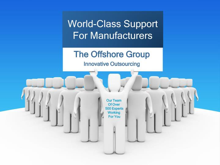 world class support for manufacturers n.