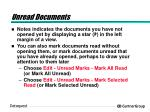 unread documents