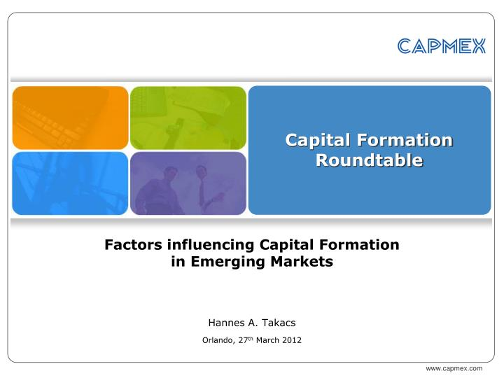 capital formation roundtable n.