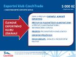 exportn klub czechtrade